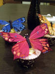 Feather Butterfly Cupcakes