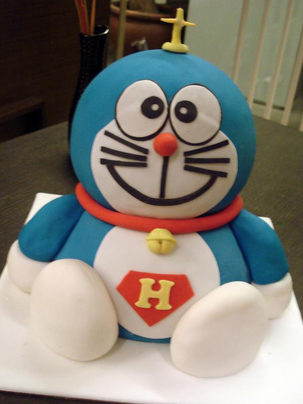 Birthday Cake Images Of Doraemon : Doraemon Cake by Sliceofcake on DeviantArt