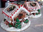 1 Caramel Gingerbread House