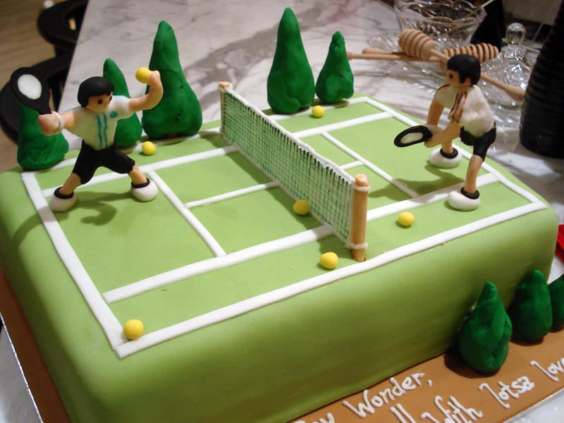 Tennis Birthday Cake Recipe