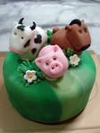 Farmville Mini cake