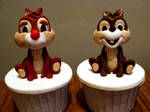 Chip And Dale Cupcakes