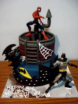 Spiderman and Batman