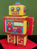 Mr Roboto by Sliceofcake