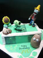 Plants Vs Zombies by Sliceofcake