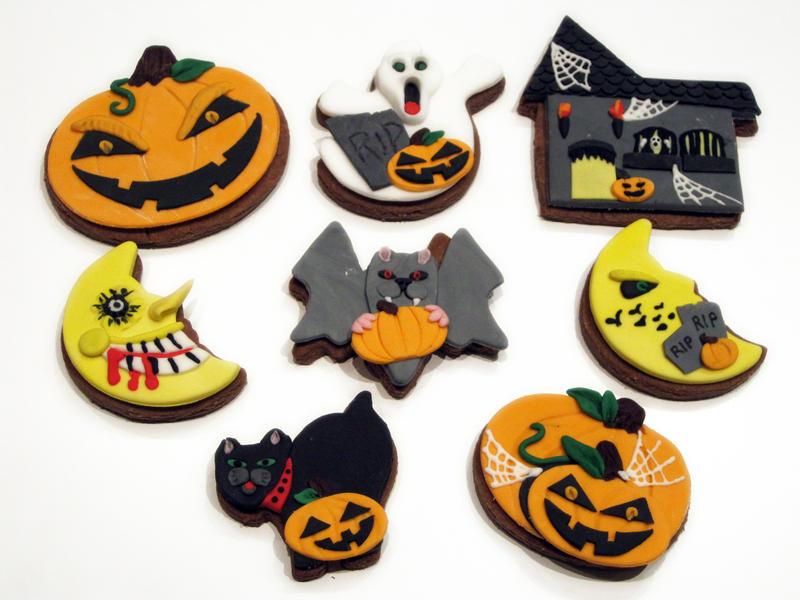 Halloween Cookies 2011 by Sliceofcake