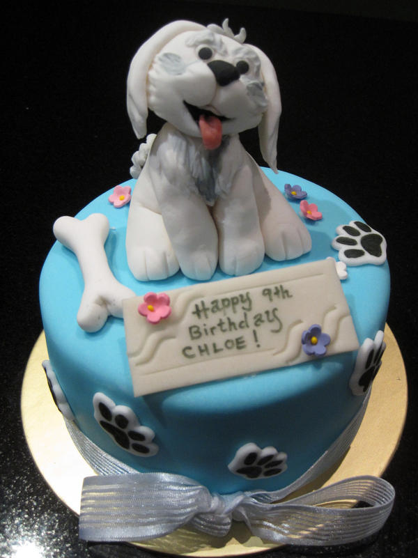 Cake Design With Dog : Maltese by Sliceofcake on DeviantArt