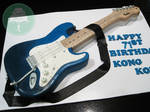 Fender Electric Guitar (Cake)