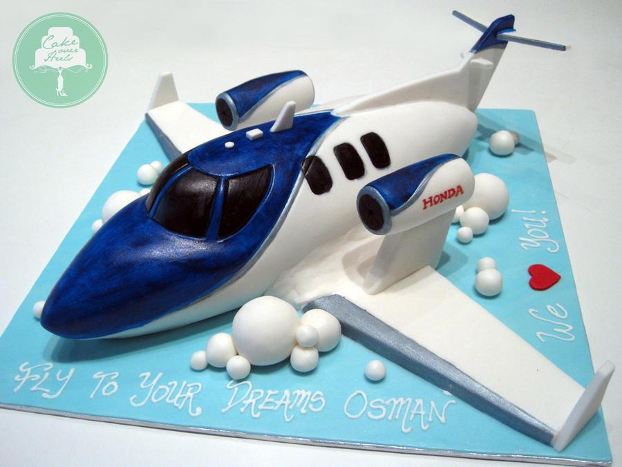 Honda Jet (cake) by Sliceofcake