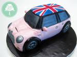 Pink Mini Cooper (Cake)