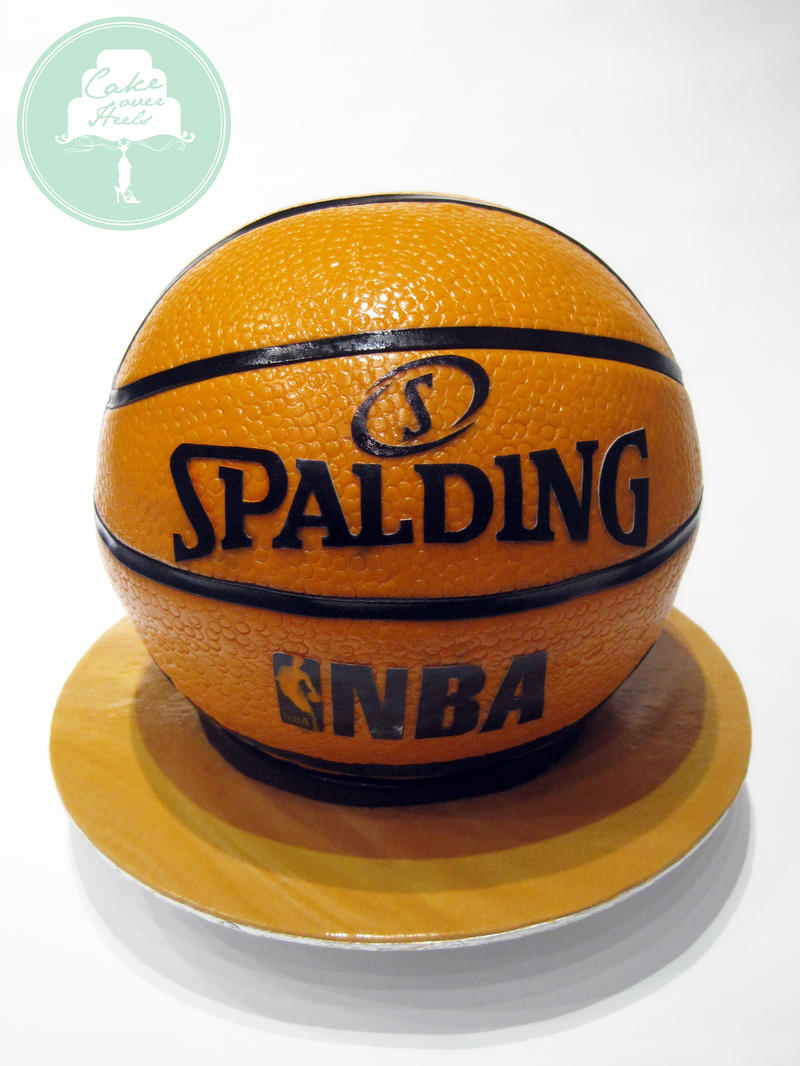 Basketball (Cake) by Sliceofcake