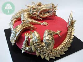 Gold Dragon by Sliceofcake