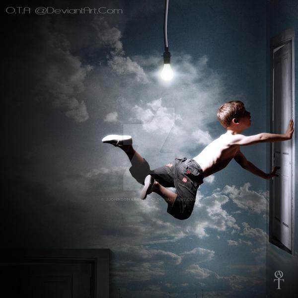 Dreams of flying away by JJohnsonArtworks