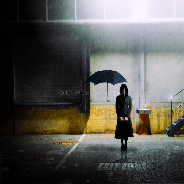 Exit zone by JJohnsonArtworks