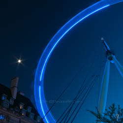 The moon and The Wheel