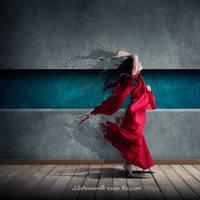 Splatter dance by JJohnsonArtworks