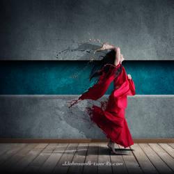 Splatter dance