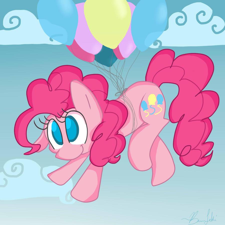 Pinkie flllyy by BreannaBoop