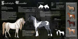Linderhofer Warmblood - Breed [CLOSED] by Pestdoktor