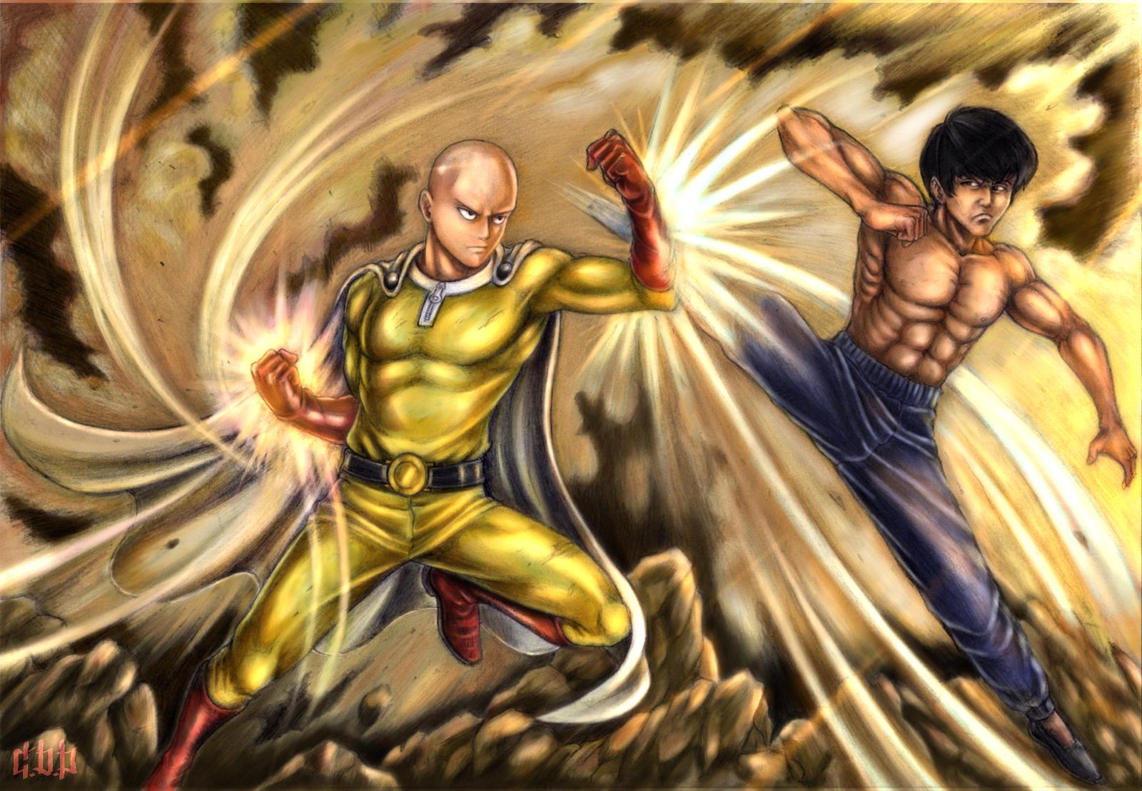 Saitama Vs. Bruce Lee by kchan05 on DeviantArt