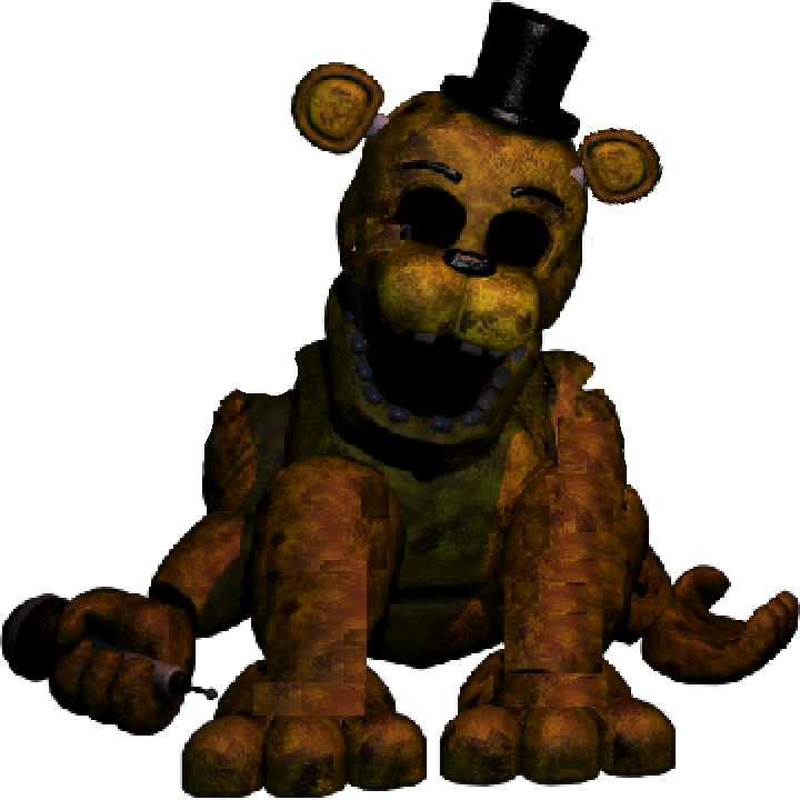 FNaF 2 - Un-Withered Golden Freddy - Fanmade by ...