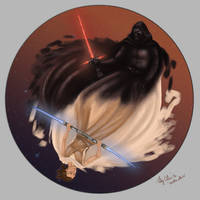 Ren and Rey - Balance by cheeto-rlb17
