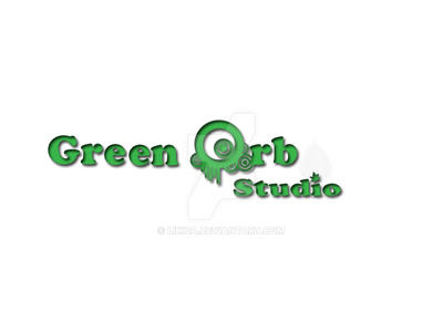 Green orb logo by Likica