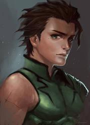 Diarmid O'Dyna Fate Zero Lancer by ahobaga