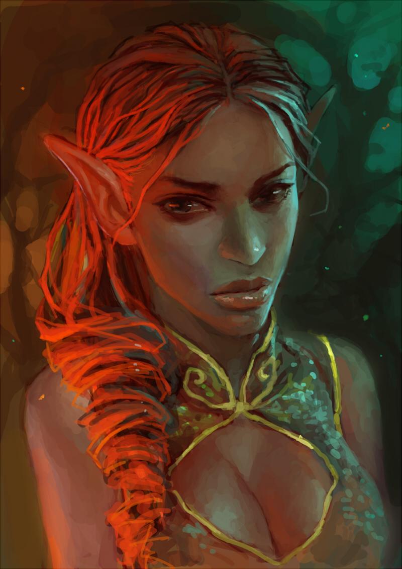 Elf by ahobaga