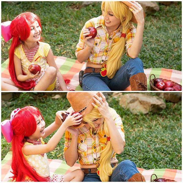 Apple Sisters by dukesawolf