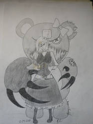 A Girl And Her Bear 2
