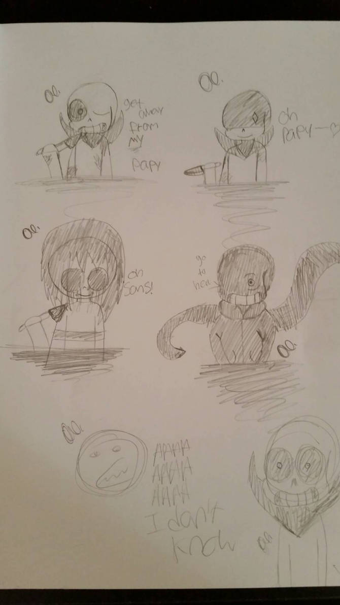Undertale AU... (doodle.)