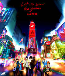 Let us start the game - Persona 5 by Zanjitsu