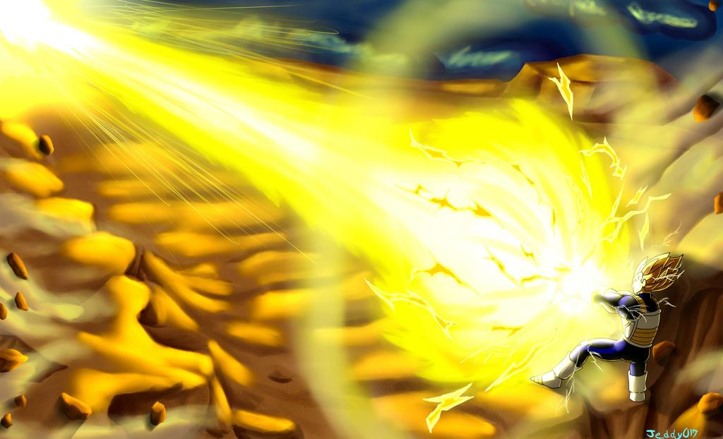 Dragon Ball Z - Final Flash!!! by Jeddy017-VZ on DeviantArt