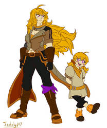 Then and Now - Yang Xiao Long
