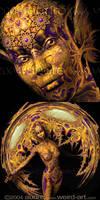 Golden Aelder Fae - Concept by audre