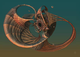 The Improbable Floating Bronze Portalthingy by audre