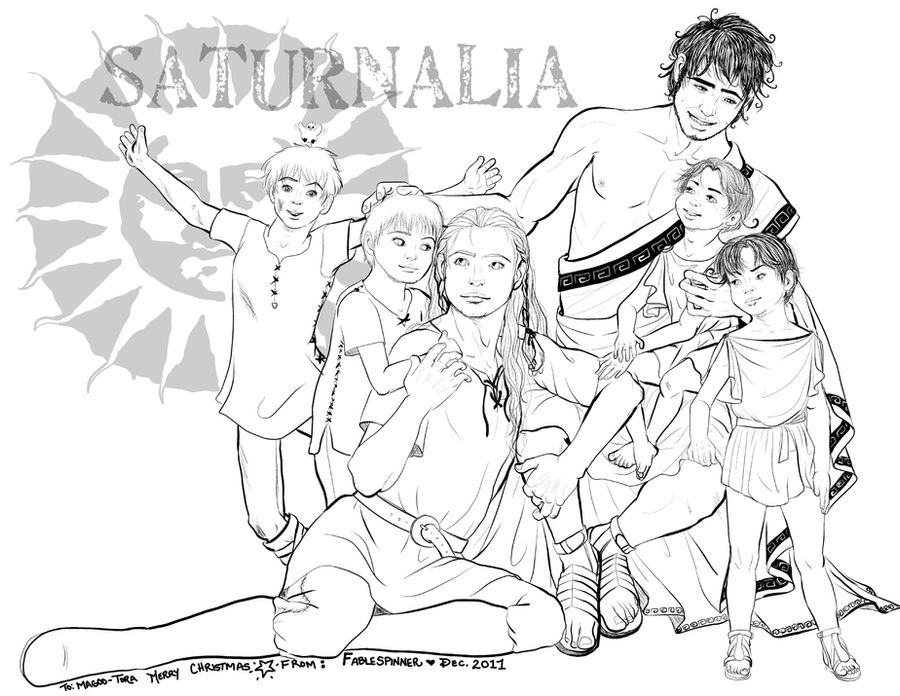 Happy Saturnalia