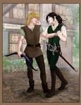 Talimenios - Alec and Seregil