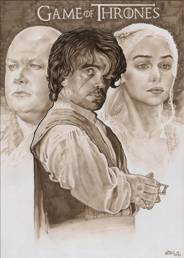 ART Game of Thrones, tyrion lannister by jefterleite