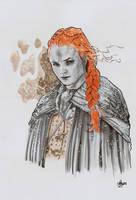 Sansa Stark SKETCH by jefterleite
