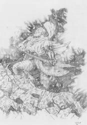 unworthy thor pencil by jefterleite