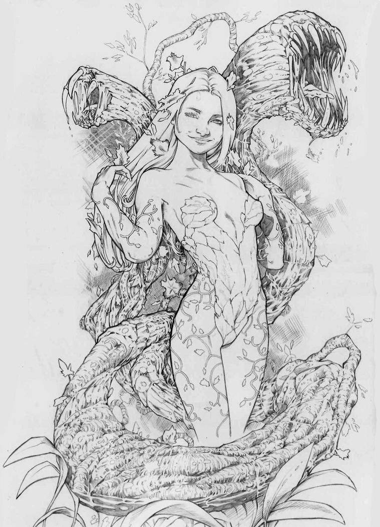 Poison ivy pencil by jefterleite