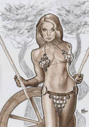 lets swinging with red sonja by jefterleite