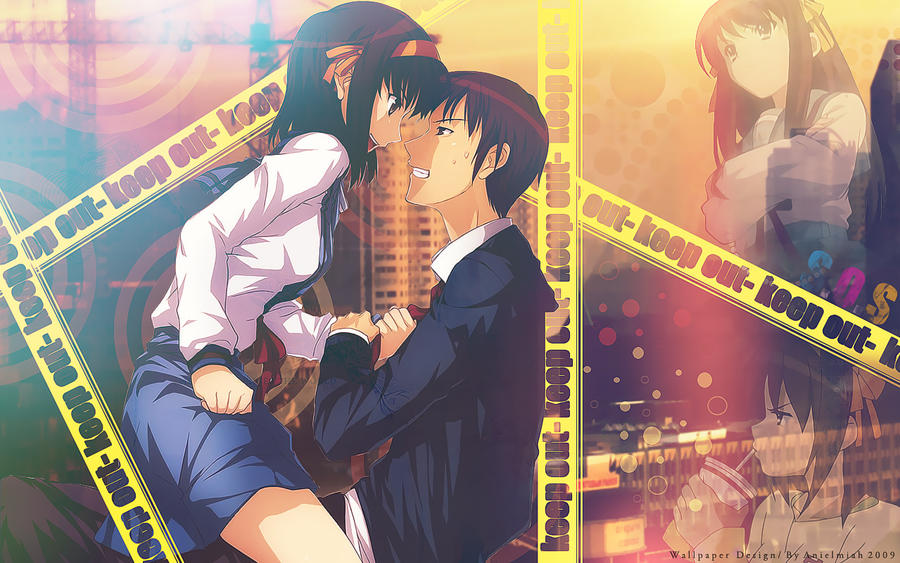 kyon and haruhi relationship trust