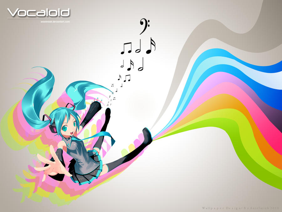 Vocaloid vector by AnielmiaH