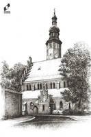 Old Church in  Radom by lustrzany