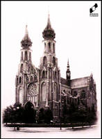 Cathedral in Radom, Poland by lustrzany