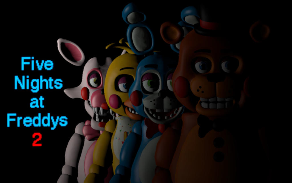 Fnaf 2 gmod: menu remake (with toy foxy) by AndyPurro on
