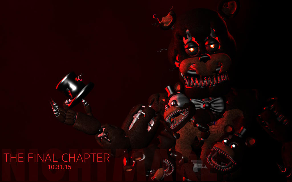 FnaF 4 Gmod: Nightmare Freddy teaser remake V2 by AndyPurro